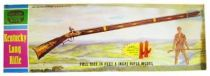 Hobby Kits / Life-Like Products Inc. - Kentucky Long Rifle (Full Size Rifle Model - 4 feet 5 inch) - Davy Crockett