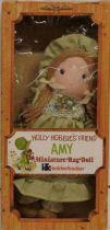 Holly Hobbie - Knickerbocker - Amy, Holly Hobbie\'s friend 8\'\' Stuffed Doll (Mint in Box)