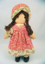 Holly Hobbie - Knickerbocker - Heather, Holly Hobbie\'s friend 10\'\' Stuffed Doll (loose)
