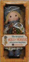 Holly Hobbie - Knickerbocker - Holly Hobbie 8\'\'Stuffed Doll (Mint in Box)