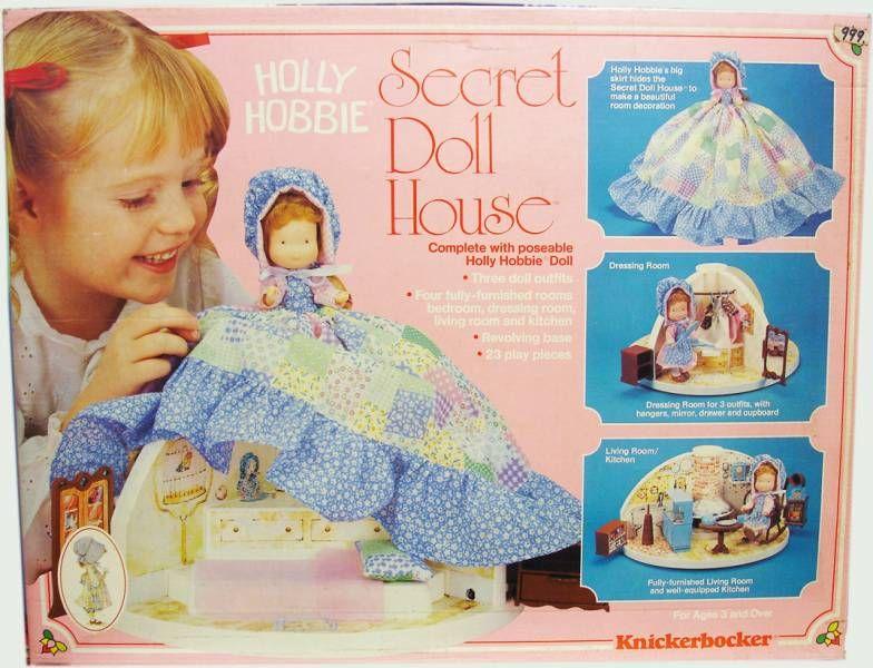 Holly Hobbie - Knickerbocker - Holly Hobbie\\\'s Secret Doll House (Mint in Box)