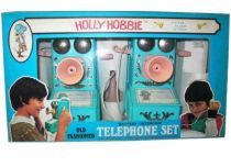 Holly Hobbie - Merchandising Mint in box Holly Hobbie Telephone set
