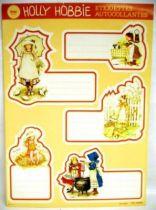 Holly Hobbie - School self-stick labels Libellia - 1 x self-stick labels set (A)