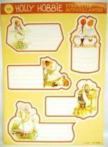 Holly Hobbie - School self-stick labels Libellia - 1 x self-stick labels set (B)