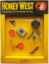 Honey West , Mint in box accessories for doll