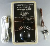 Hornby AcHo 644 Ho Transformer 220V with Supply Plug for Tracks