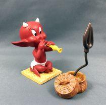 Hot Stuff (Harvey Comics) - Figurine Résine 10cm Démons et Merveilles - Hot Stuff Charmeur de Serpents
