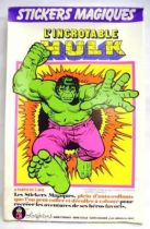 Hulk - Colorforms - The Incredible Hulk Magic Stickers (Mint in Box)