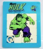 Hulk - Fifteen puzzle- The Incredible Hulk