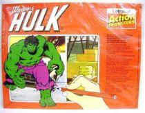 Hulk - Letraset - The Incredible Hulk (Action Transfers)
