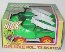 Hulk - Vintage Merchandising - Adjustable Deluxe Roller Skates