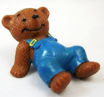 Ida Bohatta - Bully 1983 pvc figure - Little Bear in overall lying down