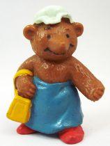 Ida Bohatta - Figurine pvc Bully 1983 - Maman Ourse