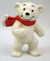 Ida Bohatta - Figurine pvc Bully 1983 - Ours des glaces avec écharpe