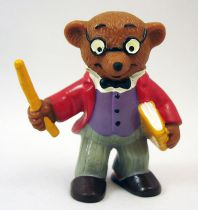 Ida Bohatta - Figurine pvc Bully 1983 - Ours Maître d\'école