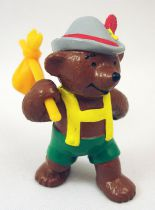 Ida Bohatta - Figurine pvc Bully 1983 - Ours tyrolien avec baluchon