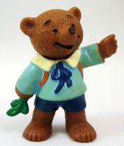 Ida Bohatta - Figurine pvc Bully 1983 - Ourson écolier