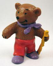 Ida Bohatta - Figurine pvc Bully 1983 - Papa Ours avec bâton