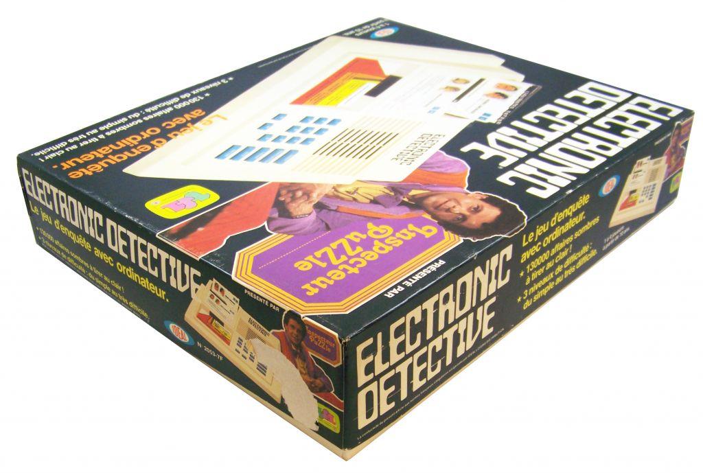 Ideal - Electronic Detective (Inspecteur Puzzle TF1) occasion en boite 03