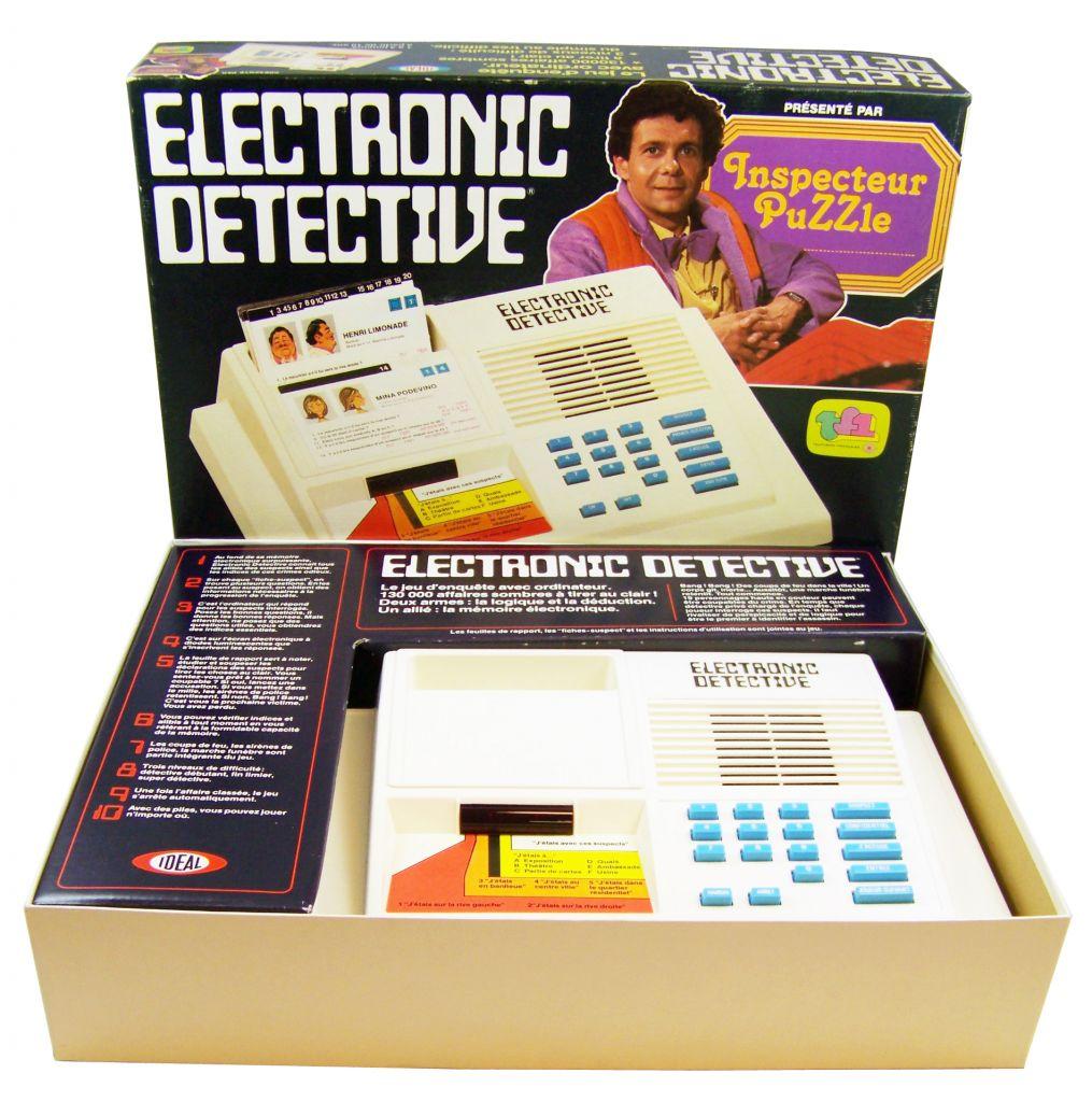 Ideal - Electronic Detective (Inspecteur Puzzle TF1) occasion en boite 04