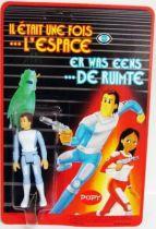 Il était une fois l\\\'espace - Pierrot Plastic Figure Mint on Card