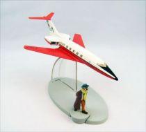 En Avion Tintin - Editions Hachette - 002 Le Carreidas 160 de Vol 714 pour Sydney 01