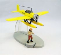 En Avion Tintin - Editions Hachette - 003 L\'hydravion jaune de l\'Etoile mystérieuse 01