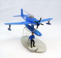 En Avion Tintin - Editions Hachette - 004 L\'hydravion bleu de Coke en stock 01