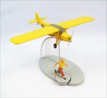 En Avion Tintin - Editions Hachette - 007 L\'Avion Orange des Cigares du Pharaon 01