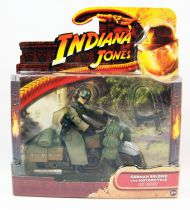 Indiana Jones - Hasbro - Raiders of the Lost Ark - German Soldier with Motorcycle