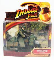 Indiana Jones - Hasbro - Raiders of the Lost Ark - German Soldier with Motorcycle