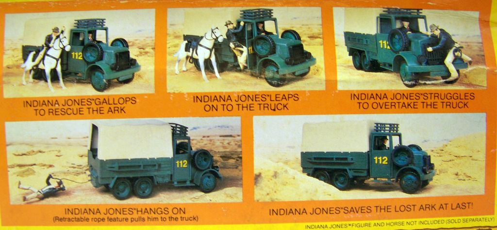 Indiana Jones - Kenner - Les Aventuriers de l\'Arche Perdue - Desert convoy truck 05