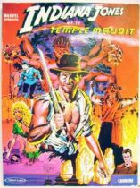 Indiana Jones and the Temple of Doom - Marvel\'s Comics - Carrere Edition 1984