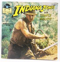 Indiana Jones et le Temple Maudit - Disque 45Tours Histoire racontée - Disques Ades 1984