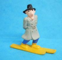 Inspector Gadget - Bandai PVC figure - \'\'Go-go-gadgetoski\'\' Inspector Gadget (loose)