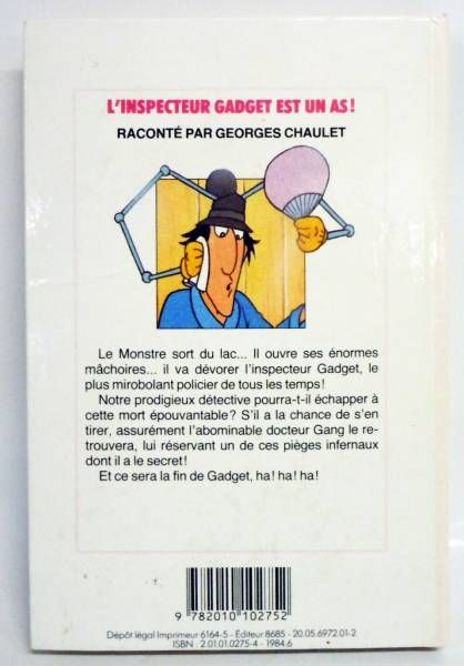 Inspector Gadget - Bibliotheque Rose Hachette Editions - Inspector Gadget is an ace!