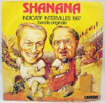 """Intervilles - G�n�rique de l\'�mission \""""Shanana\"""" - Disque 45Tours - Carr�re 1987"""