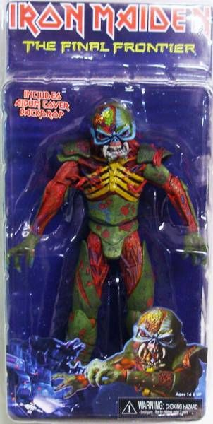 Iron Maiden Eddie ''The Final Frontier'' - figurine NECA