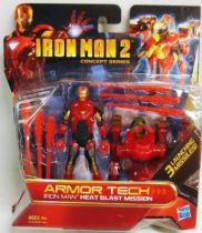 Iron Man 2 - Hasbro - Armor Tech Iron Man Heat Blast Mission