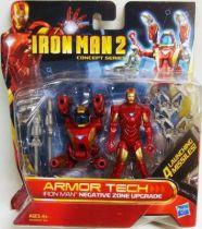 Iron Man 2 - Hasbro - Armor Tech Iron Man Negative Zone Upgrade