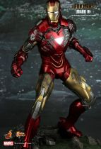 "Iron Man 2 - Iron Man Mark VI - 12"" figure Hot Toys Sideshow MMS 132"