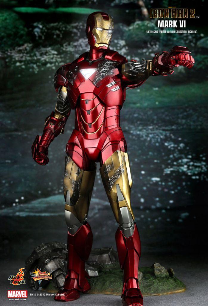 iron man 2 iron man mark vi 12 figure hot toys mms 132