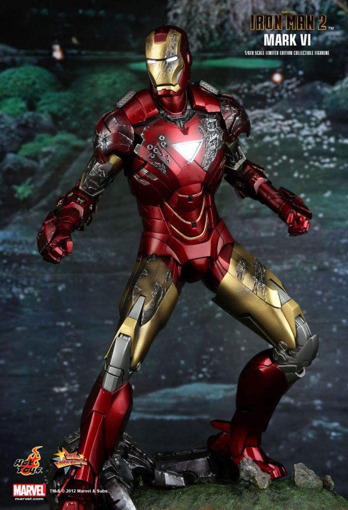 "Iron Man 2: 12"" Figure Hot Toys MMS 132"