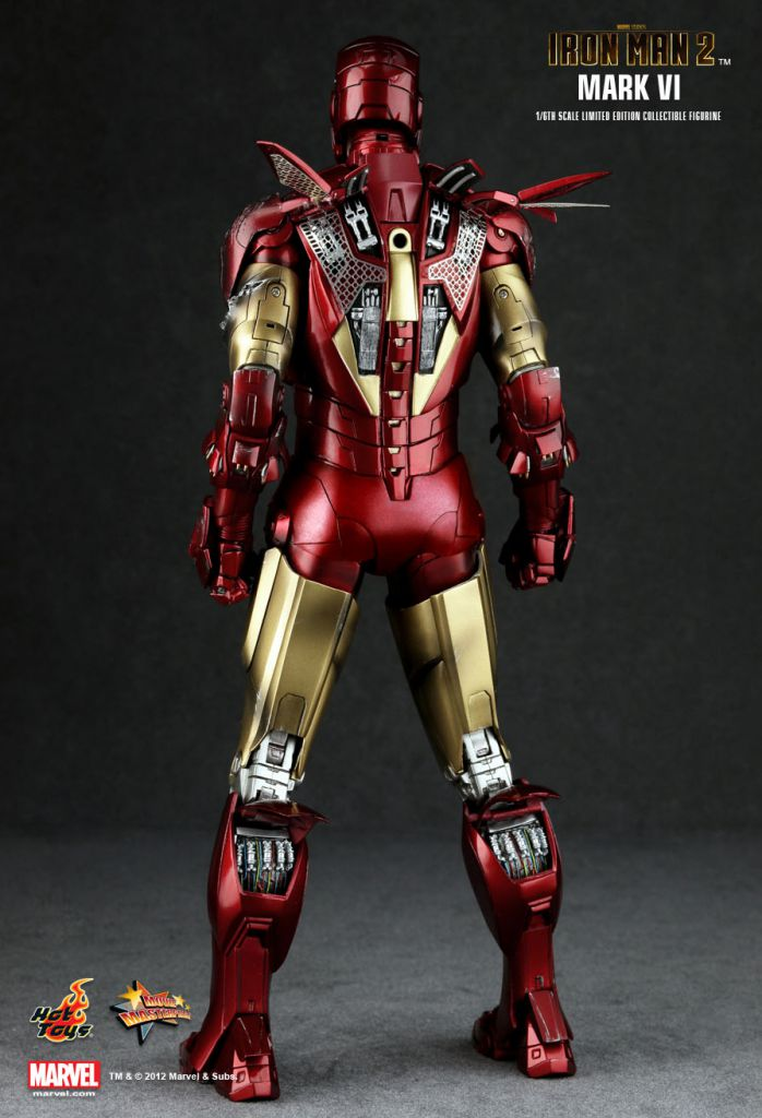Iron Man 2 Iron Man Mark Vi 12 Quot Figure Hot Toys Mms 132