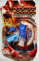 Iron Man Movie Concept Series - Hasbro - Iron Man Captain America Armor