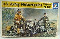 Italeri - N°322 WW2 U.S. Army Motorcycles 1:35