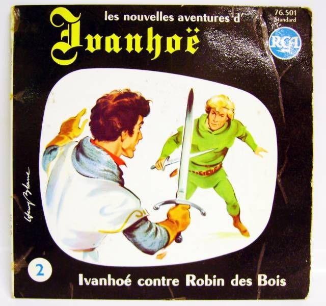 Ivanhoe - Mini-LP Record - #2 Ivanhoe against Robin Hood - CBS Records 1970