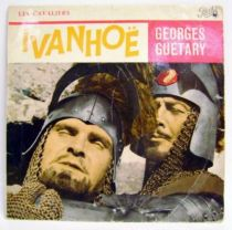 Ivanhoe - Mini-LP Record - TV Series Original Soundtrack (Georges Guétary) - Pathé 1959