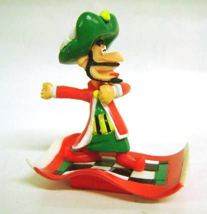 Iznogud - Ideal PVC figure - Iznogud on a flying carpet