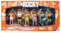 Jakks Pacific - ROCKY \'\'Celebrating 30 years of Rocky Balboa\'\' - Set of 6 figures